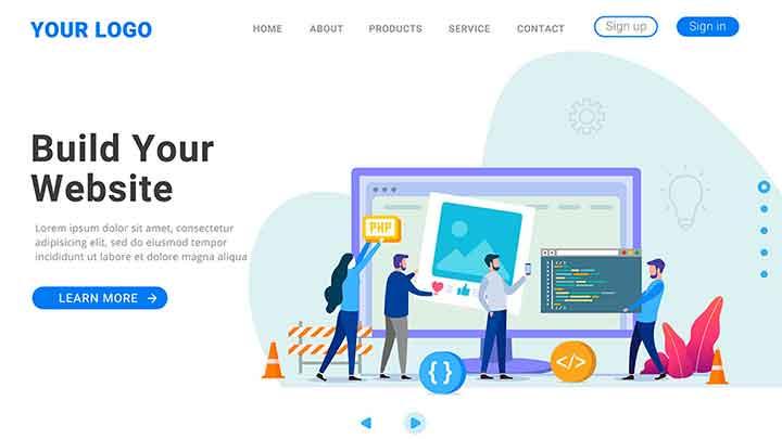 Desain-Website-Kekinian-Kompres